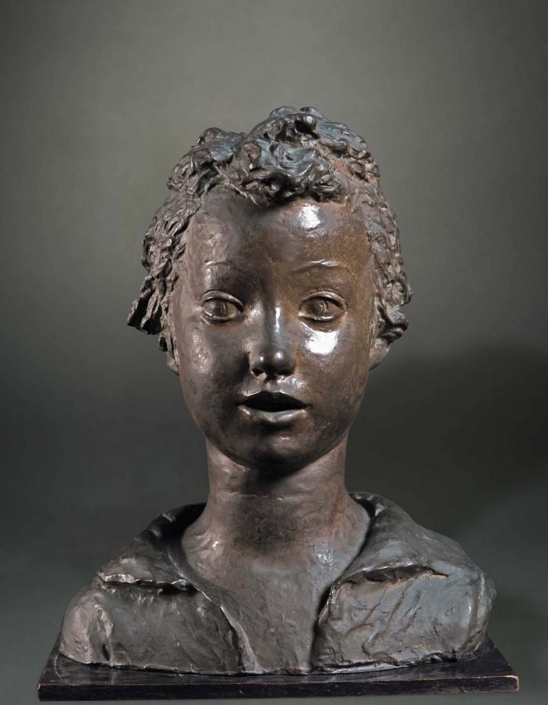 FALCONE, bronzo a cera persa, cm 37x29x15