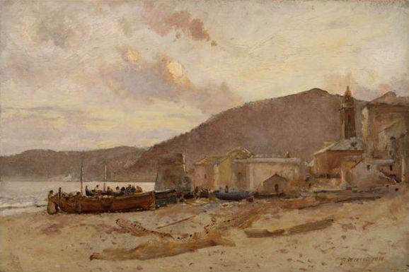 West-Spiaggia di Alassio con Torrione (2)