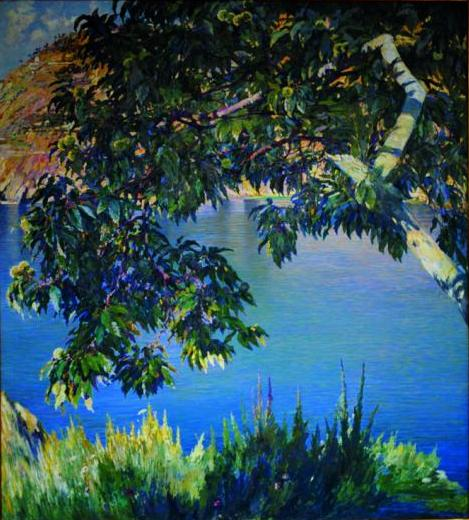 Antonio Discovolo, Il Castagno (Cinque Terre), 1921