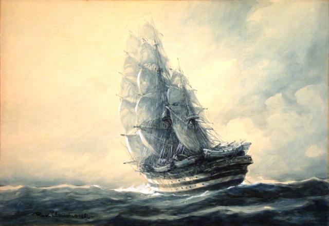 Rudolf Claudus - Nave Amerigo Vespucci