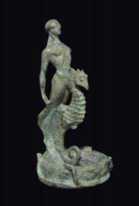 AVE BASSANO, bronzo, altezza cm 26
