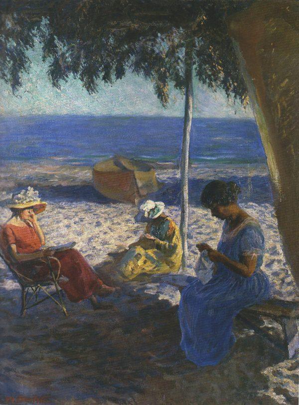 Gambetta Mario, Clelia e le amiche, 1922